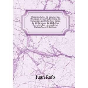 Arreglo à Las Instrucciones Dadas (Spanish Edition) Juan Rafo Books