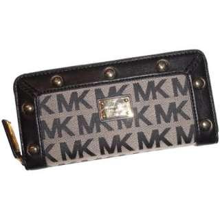 Womens Michael Kors Delancy Continental Signature Logo