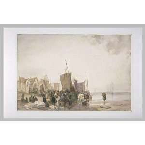 FRAMED oil paintings   Richard Parkes Bonington   24 x 16 inches   The