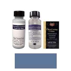 1 Oz. Medium Adriatic Blue Metallic Paint Bottle Kit for