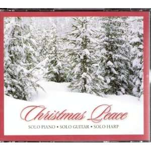 Christmas Peace ~ Solo Piano, Solo Guitar, Solo Harp, 3 CD