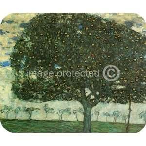 Gustav Klimt Fine Art Apple Tree 2 MOUSE PAD Office