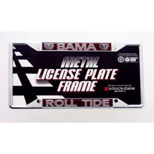 Alabama License Plate Frame   Roll Tide