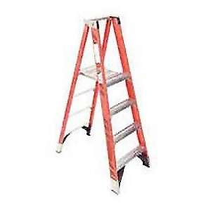 12 Ft Husky Fiberglass Industrial Step Ladder