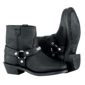 River Road Womens Low Cut Ranger Harness Boots   8.5