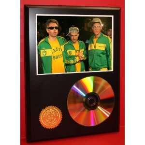 Beastie Boys MCA Adam Yauch 24kt Gold CD Disc Display   Band Merch
