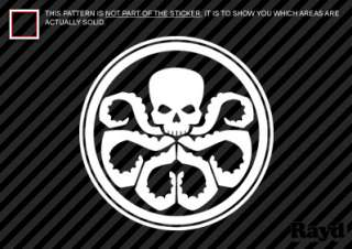 2x) Hydra Sticker Decal Die Cut captain america