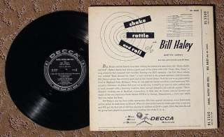SHAKE RATTLE ROLL BILL HALEY & COMETS DL5560 1ST PRESS!