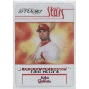 Stars Albert Pujols #42 St. Louis Cardinals Base Card