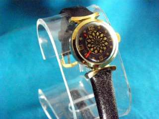 LADIES 1970S MECHANICAL HYPNOTIC ACTION BOREL LIKE COCKTAIL WATCH