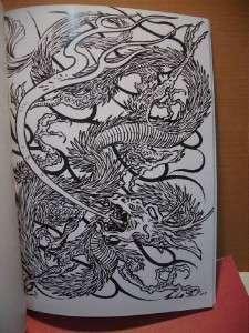 Filip leu DRAGONS TATTOO FLASH SKETCH Art A4 Book Vol. I & II 11