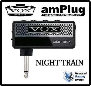 VOX amPlug Night Train Headphone Guitar Amp. New AP NT Amplifier