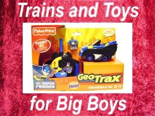 BATMOBILE RC DC Super Friends Fisher Price 00301 Trains Toys Bat New I