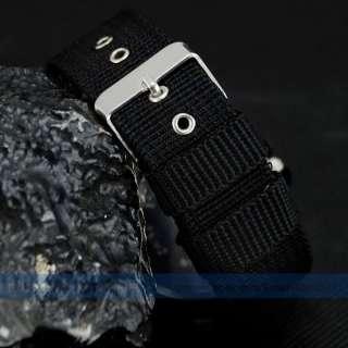 BN Vajill Aviator Sport Boy Men Breathable Fabric Belt Strap Quartz