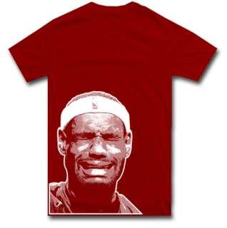 LEBRON JAMES CRYING t shirt nba jordan S M L XL 2XL
