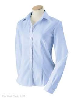 New Van Heusen Womens NoWrinkle Oxford Shirt Any Sz/Clr