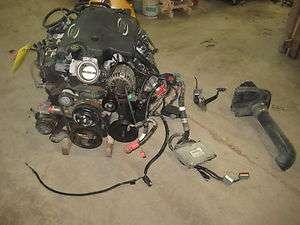 01 02 03 CHEVY GM 8.1 LITER L18 VORTEC ENGINE MOTOR 114K SILVERADO