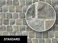 0279 Square Bricks Wall Texture Sheet