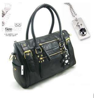 New Fashion Faux Leather Womens Tote Shoulder Bags Handbags Purses