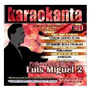 Karaokanta KAR 4269   Al Estilo de Luis Miguel   II Spanish CDG