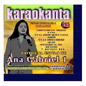 Karaokanta KAR 4295   Al Estilo de Ana Gabreil   I Spanish