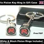 Civic Jazz Type R Mugen Logo Piston Key Ring Keyring Key Fob 077