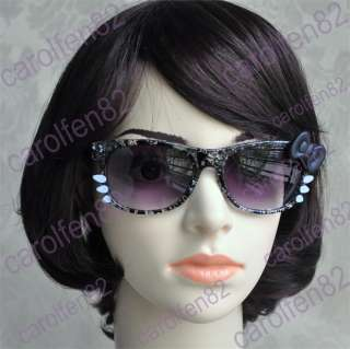 Hello Kitty Bow Style Sunglasses Costume For Womens Girl Fashion Gift