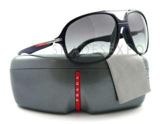 NEW Prada Sunglasses SPS 07M BLACK FAJ 3M1 SPS07M AUTH