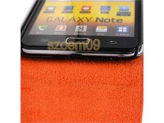 Leather Flip Case Cover for Samsung Galaxy Note GT N7000 i9220+Screen