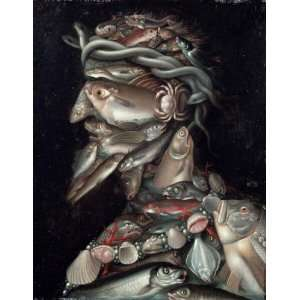 Giuseppe Arcimboldo   24 x 32 inches   The Admiral
