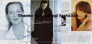 SPUR 1997/10 Sevigny Alexander McQueen Milla Jovovich Mini Anden