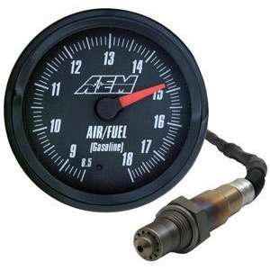 Analog Wideband Air / Fuel 52mm Gauge (Black Face)