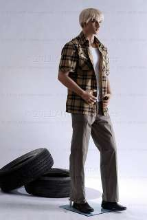 Male mannequin display manikin mannequin   Big Zac