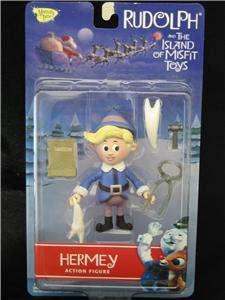 Rudolph ISLAND OF MISFIT TOYS Collection Action Figures