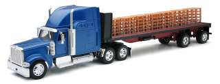 NEW RAY 1/32 INTERNATIONAL FLATBED W/PALLETS #13433