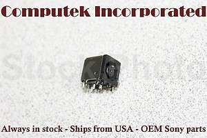 1x Dell XPS 1330 OEM AC DC Motherboard Power Jack Socket PN98740
