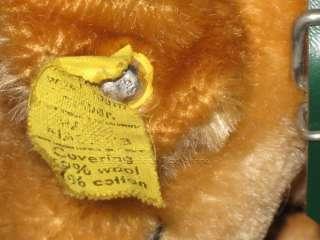 Steiff Original Mohair Bazi Dachshund Dog Puppy Button & Tag 4160/14