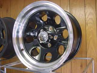 15X8 BLACK ION 5 on 4.5 BOLT PATTERN,, FORD /JEEP WRANGLER/ OTHERS 171