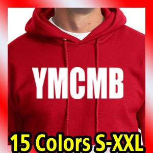 YMCMB RED HOODIE young money lil wayne weezy t shirt