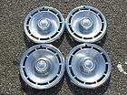 USED 14 CHEVY NOVA MALIBU WIRE WHEEL COVERS HUBCAPS
