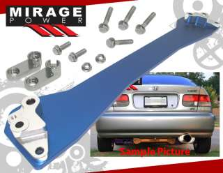 REAR LOWER SUBFRAME BRACE 93 97 DEL SOL 88 95 HONDA CIVIC CRX