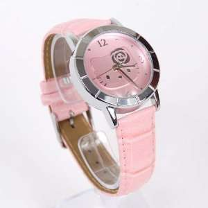Hello Kitty Round Vintage Band Wrist Watch Pink Toys & Games