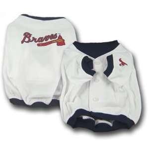 com Atlanta Braves Dog Puppy Jersey MEDIUM M Officially Licensed MLB