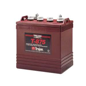Trojan T 875 Flooded Lead Acid GC8 Deep Cycle Battery |