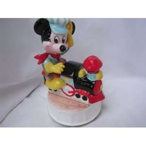 Walt Disney Characters Collectible ; Ive Been Working on the Railroad
