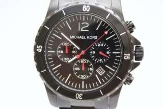 Nuevo reloj MK8161 negro de cronógrafo de hombres de Michael Kors