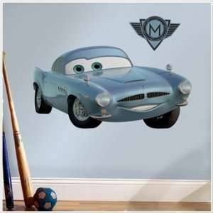 Cars 2 World Grand Prix Finn McMissile Mega Decal Pack