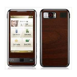 Maple Wood Grain Pattern Skin for Samsung Omnia i900 and