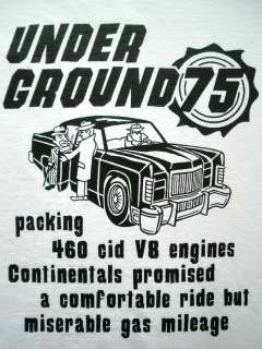 SHIRTS TEE LINCOLN CONTINENTAL AUTO CAR MUSCLE HOT ROD