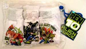 BEN 10 Kids Boy Clothing Underwear Pants Briefs XL 8 10